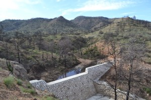 """Check dams for """"dis-connect"""" the system after forest fires by Manuel Esteban Lucas Borja"""