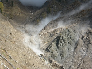Hillslope-channel coupling: feeding a debris-flow initiation area by Lorenzo Marchi